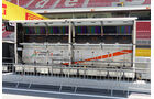 Force India - GP Spanien - Barcelona - Donnerstag - 7.5.2015