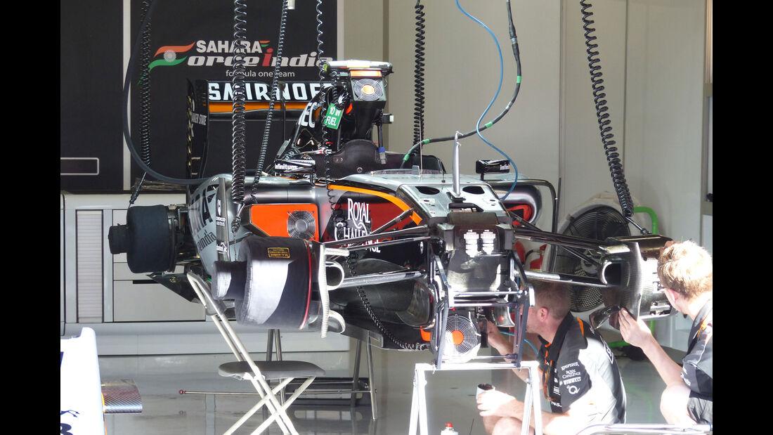 Force India - GP Spanien - Samstag - 9.5.2015