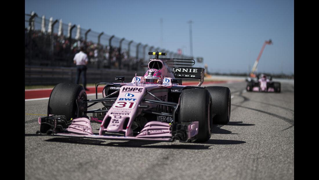 Force India - GP USA 2017