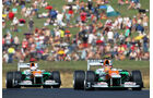 Force India GP Ungarn 2012