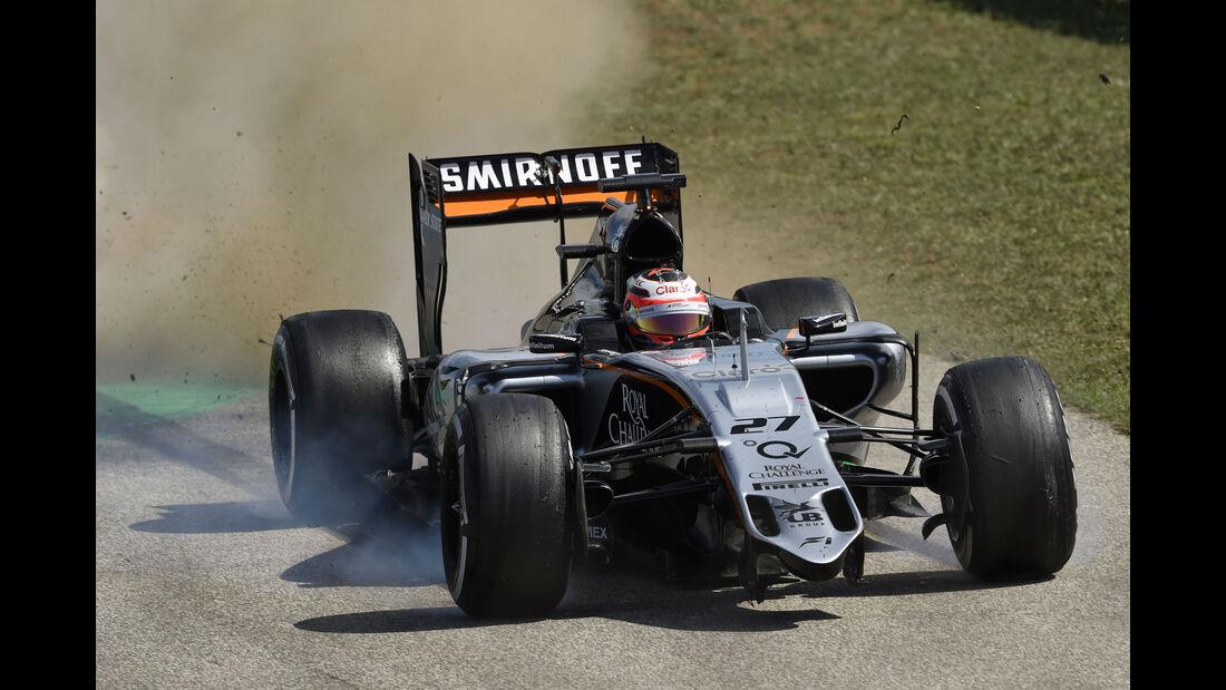Force India - GP Ungarn 2015