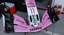 Force India - GP Ungarn - Budapest - Formel 1 - Freitag - 27.7.2018