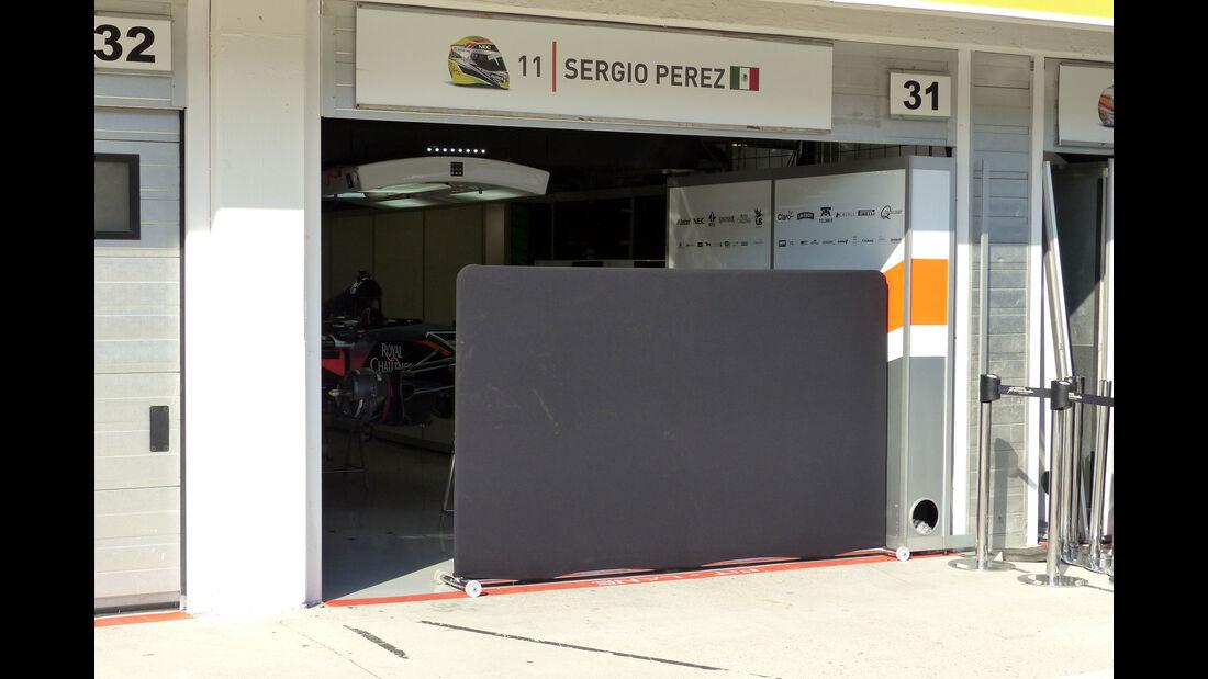 Force India - GP Ungarn - Budapest - Mittwoch - 22.7.2015