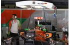 Force India-Garage