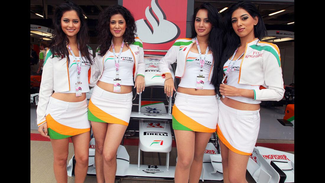 Force India-Girls