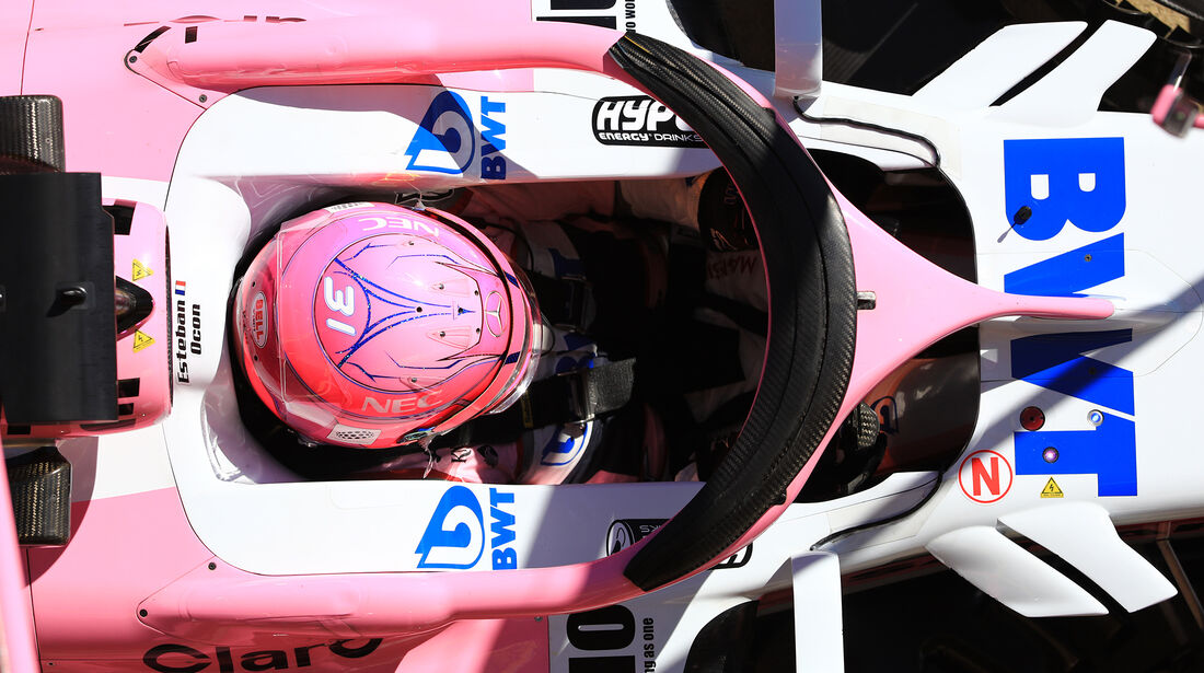 Force India - Halo - F1-Test - Barcelona - 2018