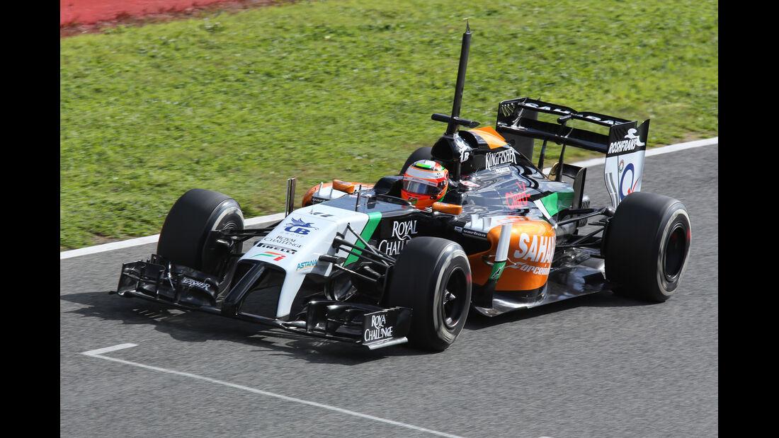 Force India - Jerez-Test 2014