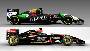 Force India / Lotus - GP Spanien 2014