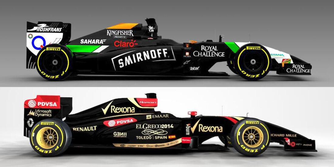 Force India / Lotus - GP Spanien 2014