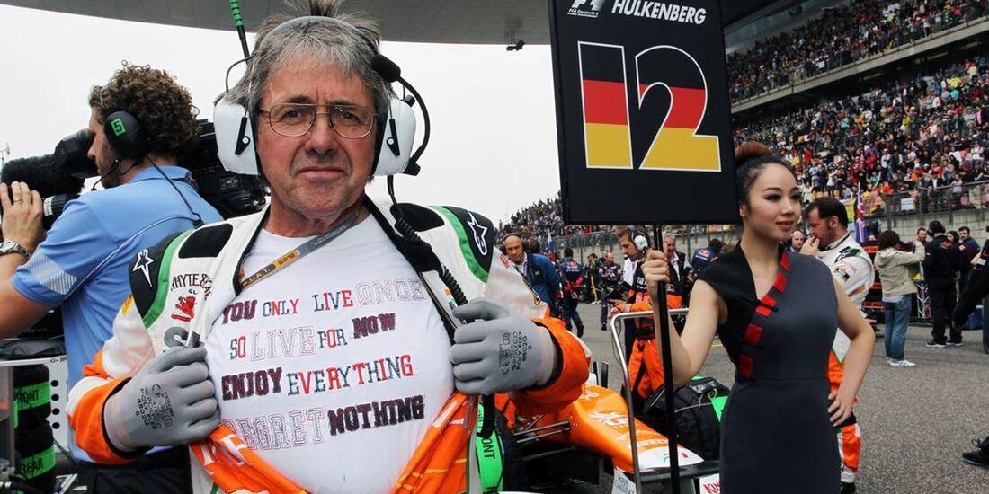 Force India Mechaniker  - Formel 1 - GP China - 15. April 2012