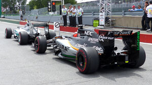 Force India & Mercedes - GP Kanada 2015