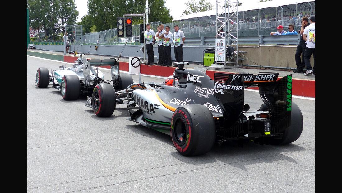 Force India & Mercedes - GP Kanada 2015