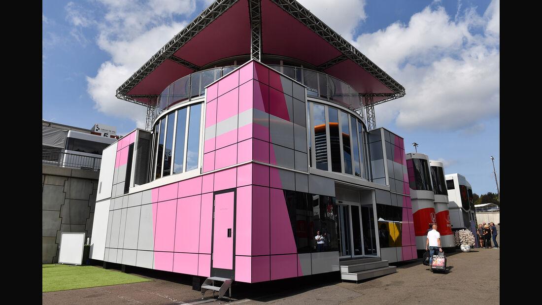 Force India Motorhome - GP Belgien 2018