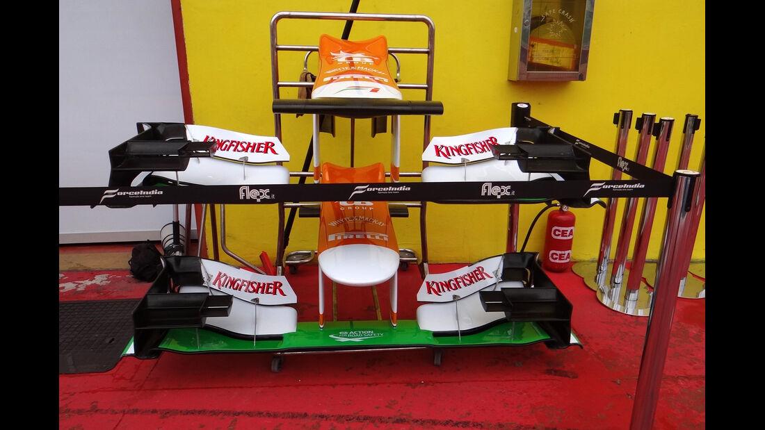 Force India Mugello 2012 Formel 1 Technik