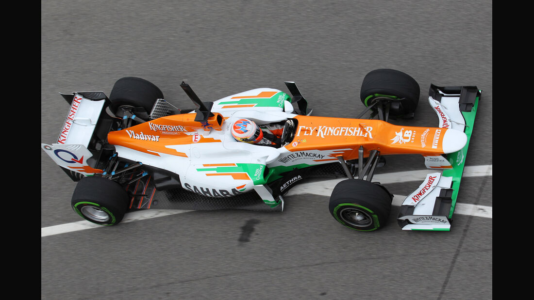 Force India Mugello 2012 Formel 1 Technik