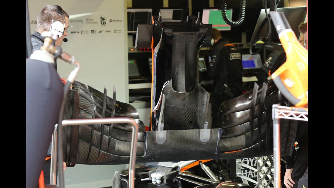 Force India Nase - Barcelona Test - 2016