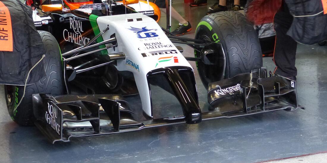 Force India - Nase - Formel 1 - Jerez-Test - 2014
