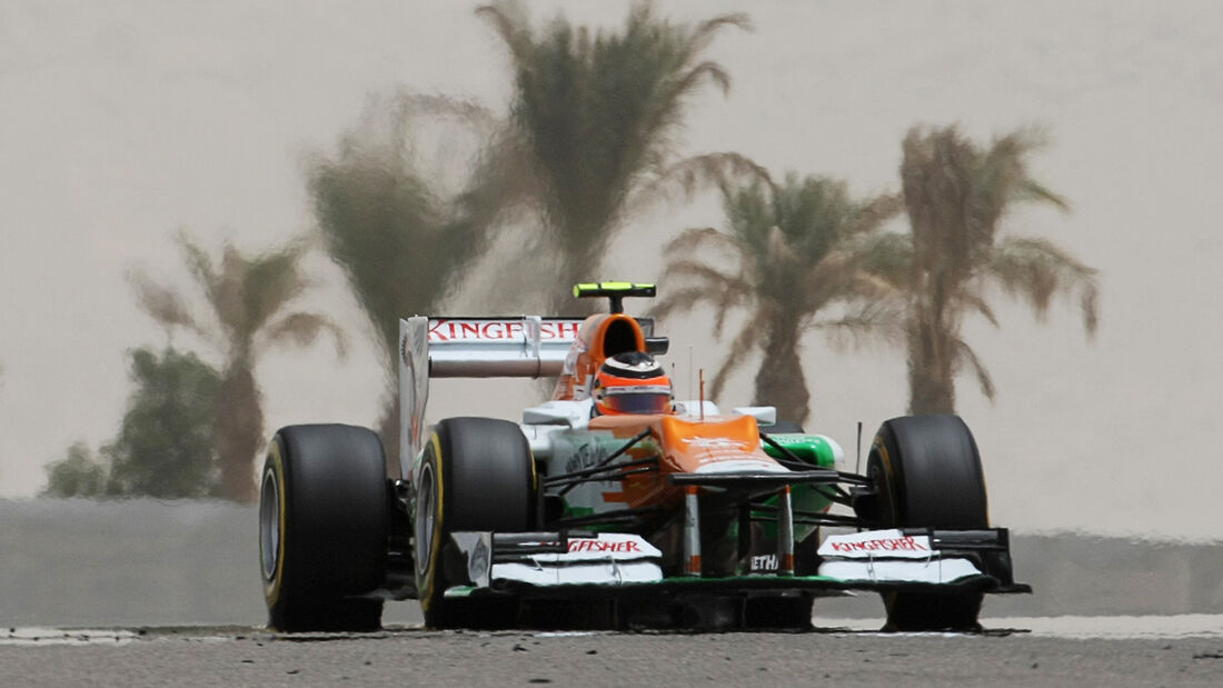 Force India Nico Hülkenberg GP Bahrain 2012