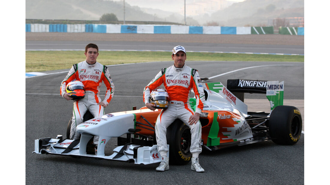 Force India Präsentation 2011