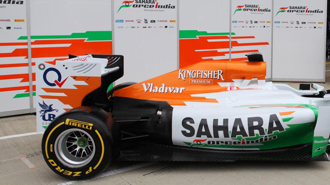 Force India Präsentation 2012