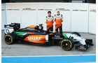 Force India - Präsentation - Jerez - 28. Januar 2014