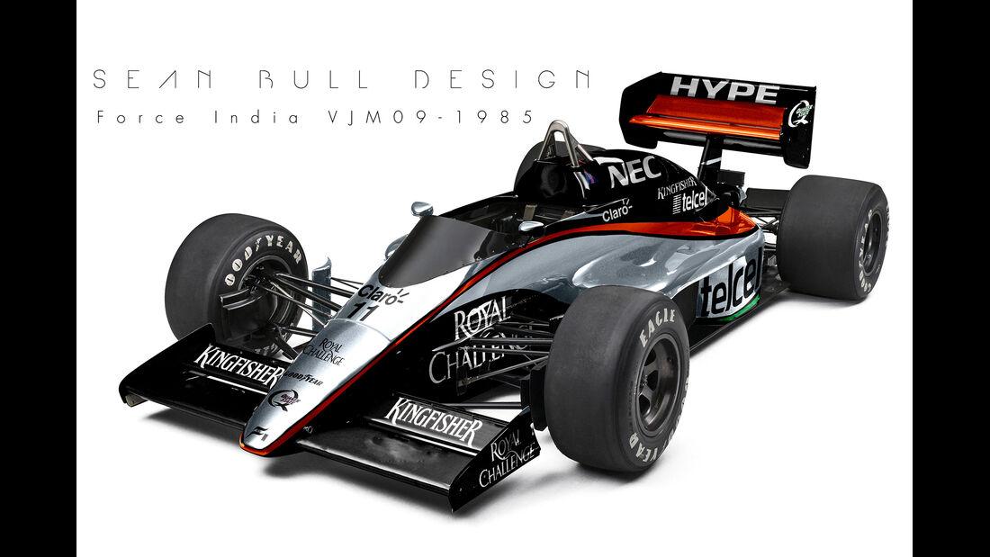 Force India - Retro F1 - Sean Bull