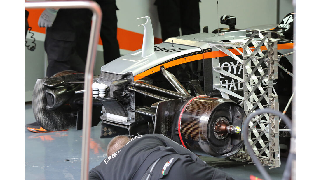 Force India S-Schacht - Barcelona Test - 2016