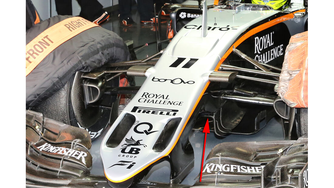 Force India - S-Schacht - F1-Test - Barcelona 2016