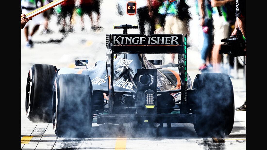 Force India - Sergio Perez - GP Bahrain 2015