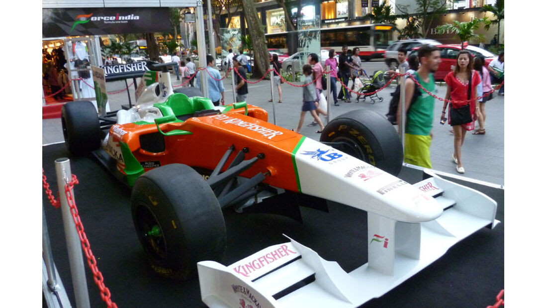 Force India Showcar - GP Singapur - 22. September 2011