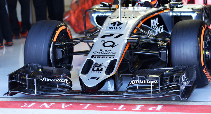 Force India Technik - B-Version - GP England 2015
