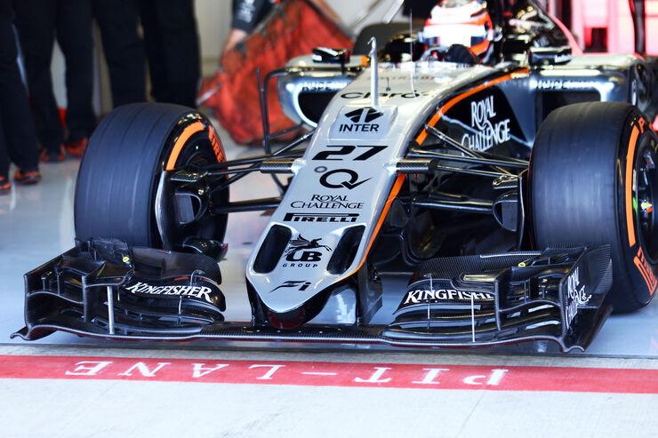 Force India Technik - B-Version - GP England 2015