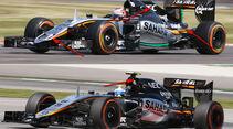 Force India Technik - B-Version - GP England 2017