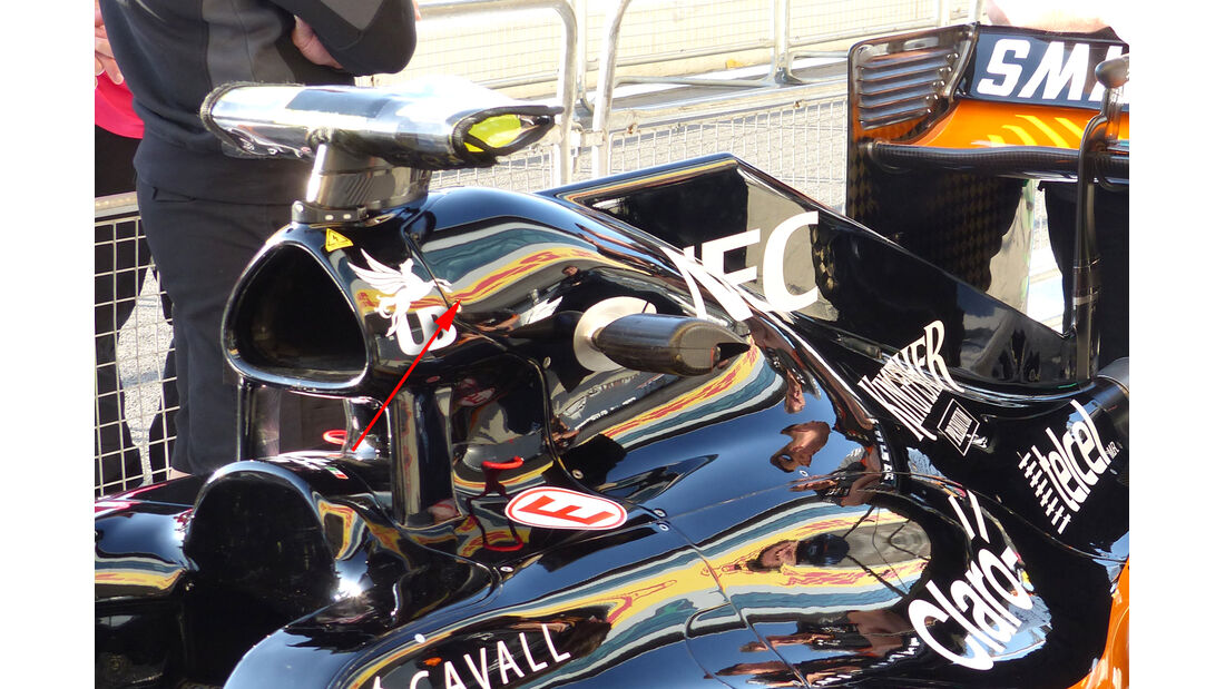 Force India Technik - B-Version - GP England 2021