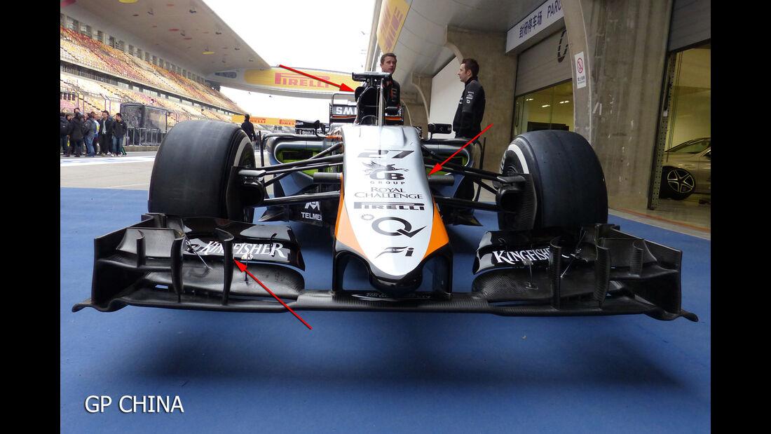 Force India Technik - B-Version - GP England 2028