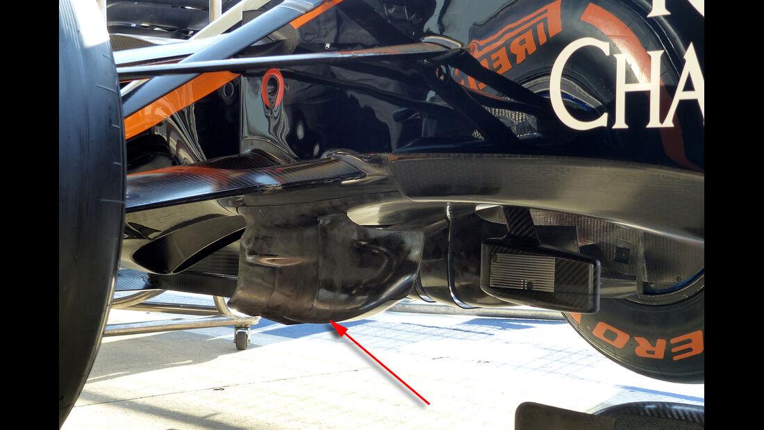 Force India Technik - B-Version - GP England 2031