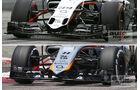 Force India Technik - B-Version - GP England 2034