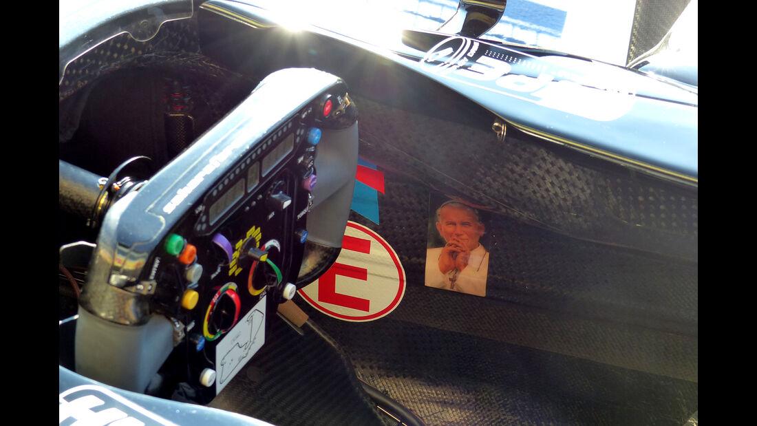 Force India Technik - B-Version - GP England 2036