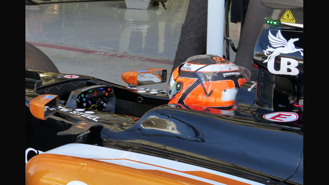 Force India - Technik - Bahrain Test 2 - 2014