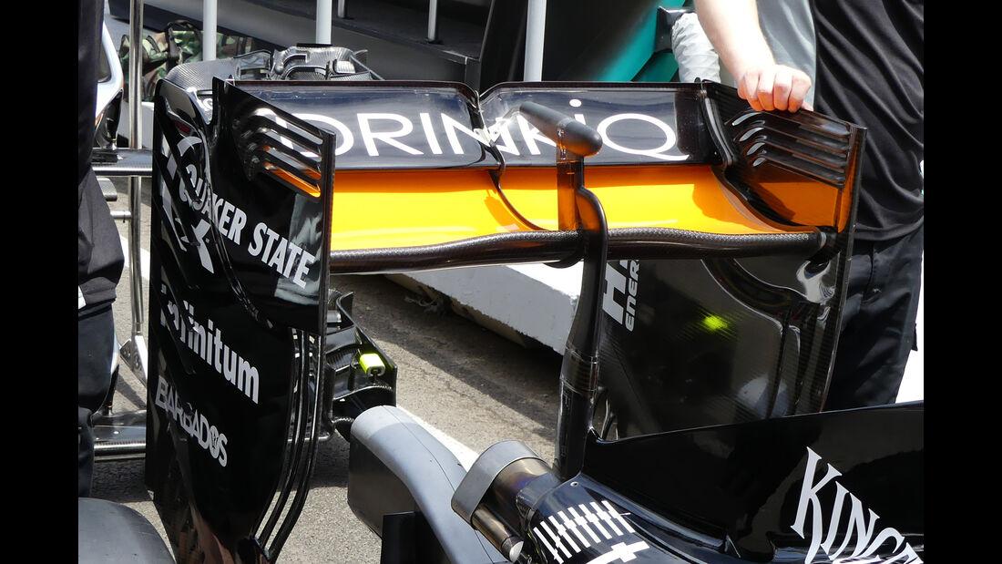 Force India - Technik - Formel 1 - GP Kanada / Aserbaidschan 2016