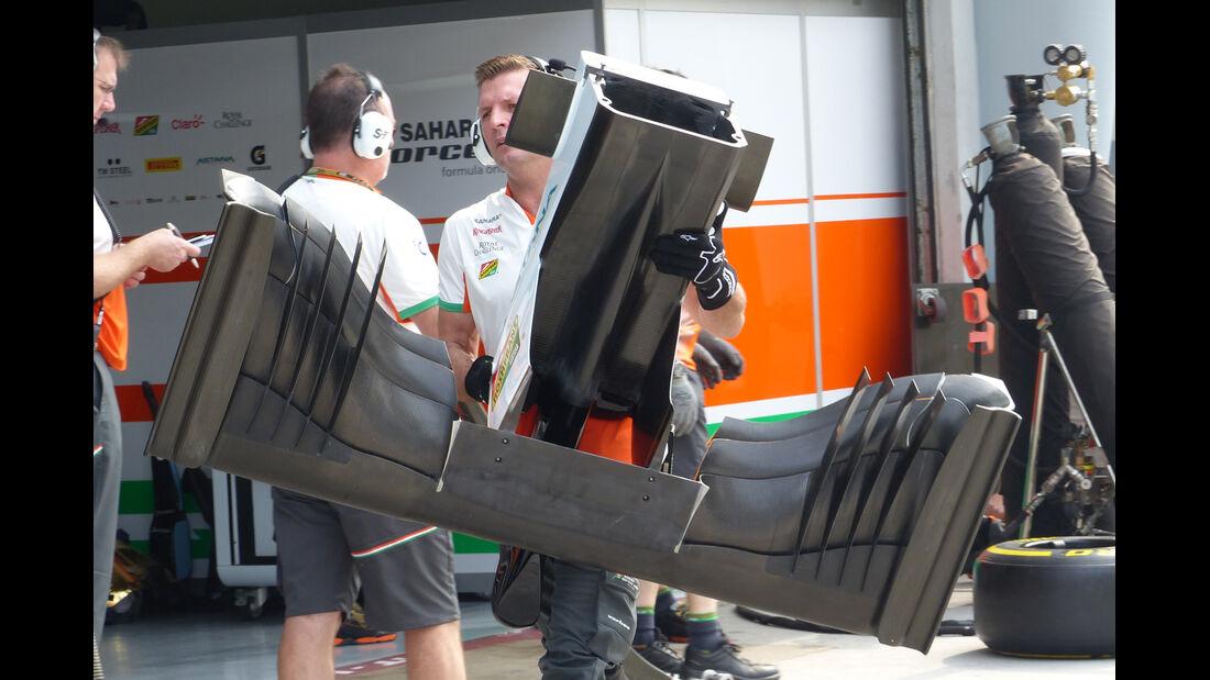 Force India - Technik - GP Malaysia 2014