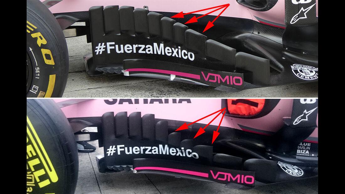 Force India - Technik - GP Malaysia / Japan 2017