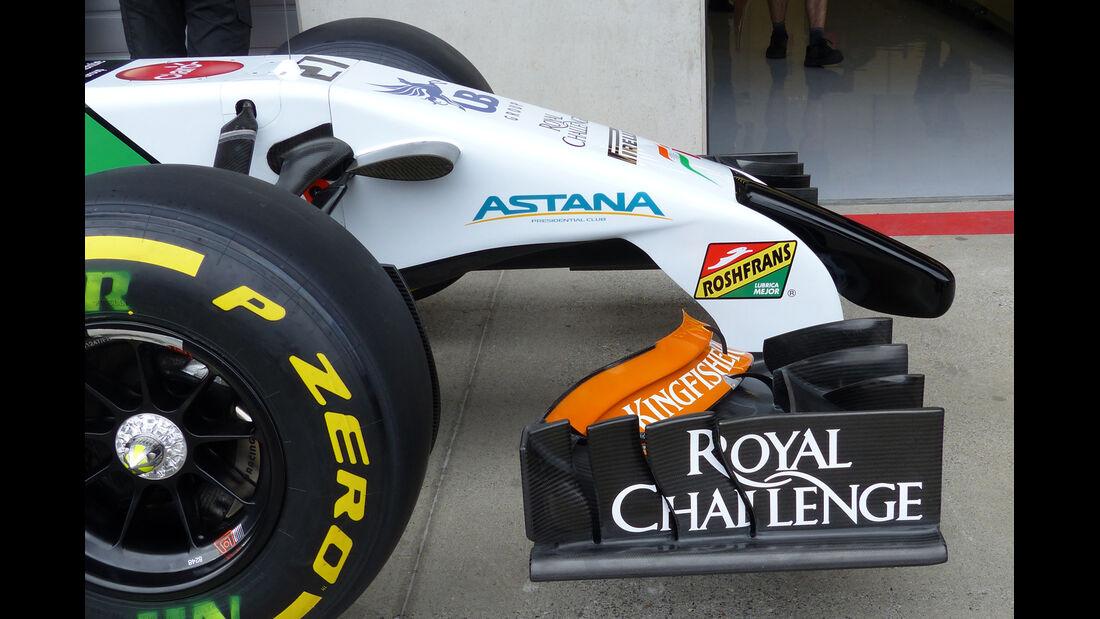 Force India - Technik - GP Österreich 2014