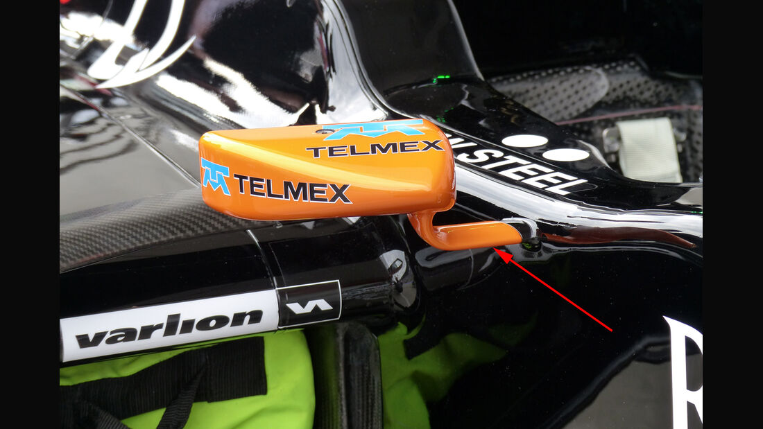 Force India - Technik - GP Österreich 2014