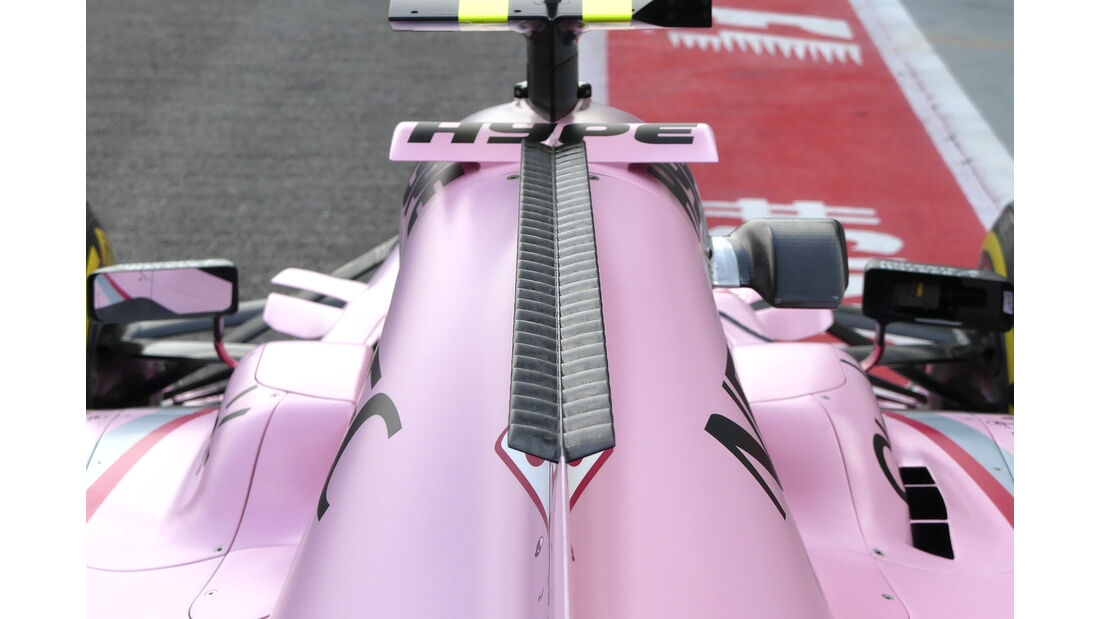 Force India - Technik - GP Singapur 2017