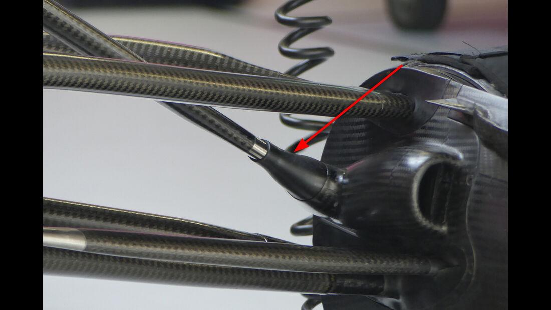 Force India - Technik - GP Singapur, Russland & Japan 2018