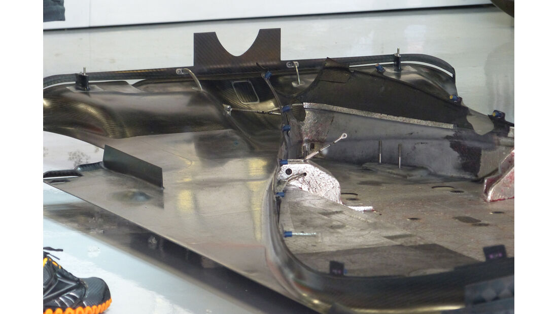 Force India - Technik - GP Spanien 2014