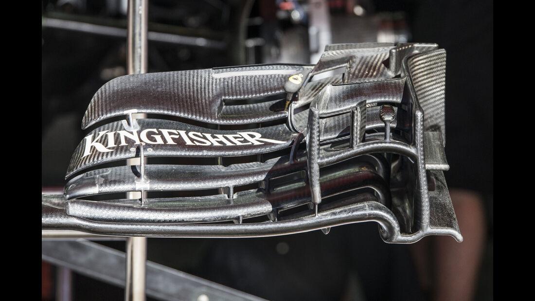 Force India - Technik - GP Spanien 2016