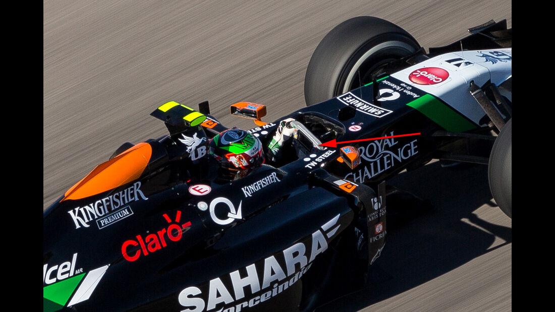 Force India - Technik - GP USA/Brasilien 2014
