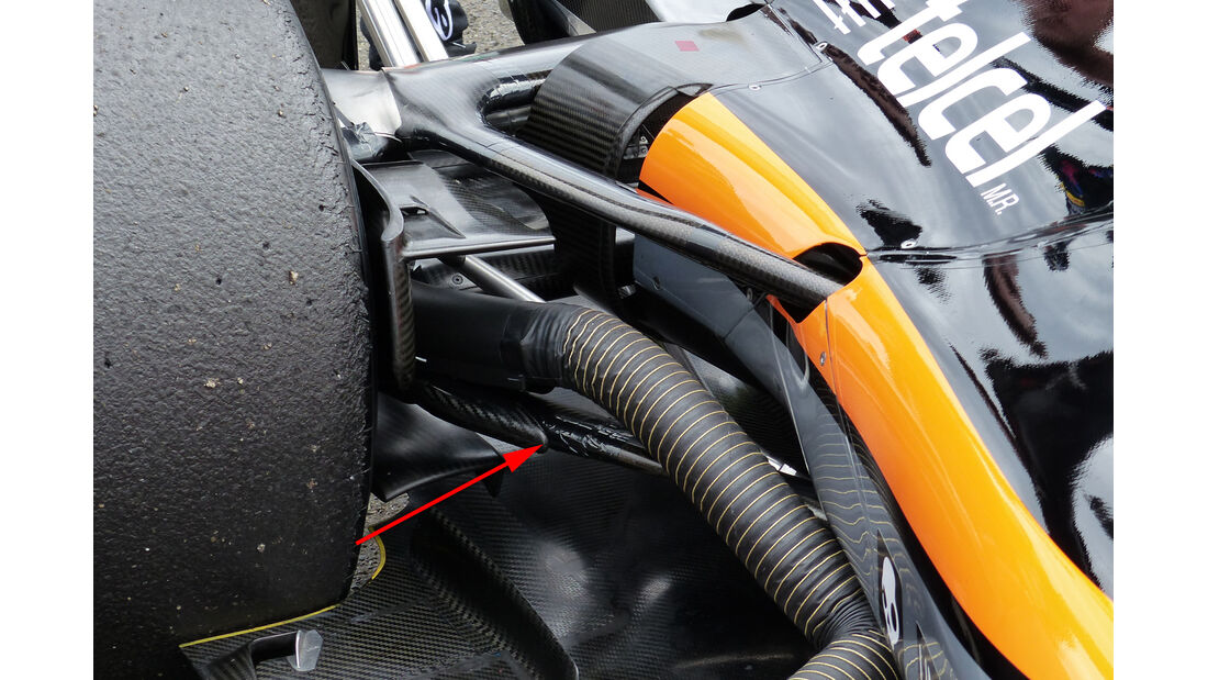 Force India - Technik - GP Ungarn 2015